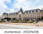 rennes  brittany  france  ... | Shutterstock . vector #253296358