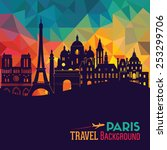 paris. vector illustration | Shutterstock .eps vector #253299706