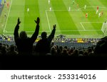 soccer supporters complain for... | Shutterstock . vector #253314016
