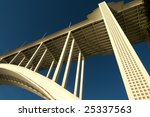 part of the arch of a concrete... | Shutterstock . vector #25337563
