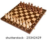 chess board with chess figures... | Shutterstock . vector #25342429