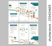 abstract colored brochure... | Shutterstock .eps vector #253424605