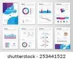 fresh vector elements for... | Shutterstock .eps vector #253441522