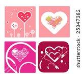 hearts | Shutterstock .eps vector #25347382