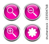 set of buttons for web ... | Shutterstock .eps vector #253504768