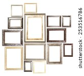 Collection Of Frames Isolated...