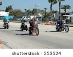 riding at the daytona bike week ... | Shutterstock . vector #253524