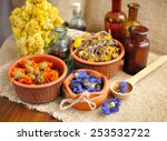 Healing Herbs And Tinctures In...