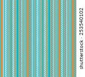 vector pattern  geometric... | Shutterstock .eps vector #253540102
