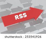 rss | Shutterstock . vector #253541926