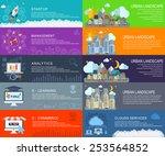 management digital marketing... | Shutterstock .eps vector #253564852