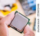 technician support upgrade part ... | Shutterstock . vector #253601446