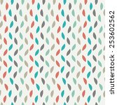 abstract seamless spotty pattern | Shutterstock .eps vector #253602562