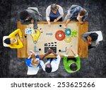 planning ideas creativity... | Shutterstock . vector #253625266