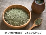 south american yerba mate  mate ... | Shutterstock . vector #253642432