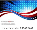 abstract image of the american... | Shutterstock .eps vector #253699462