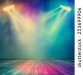 background in show. vector... | Shutterstock .eps vector #253699906
