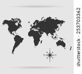 map icon great for any use.... | Shutterstock .eps vector #253703362