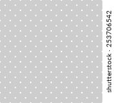 seamless white and grey vector... | Shutterstock .eps vector #253706542