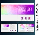 brochure flyer design vector... | Shutterstock .eps vector #253760968