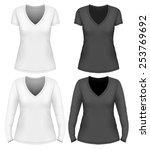 women's v neck t shirt design...