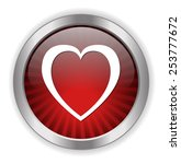 heart icon | Shutterstock . vector #253777672