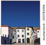 vector landscape  portugal | Shutterstock .eps vector #253782496
