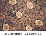 Pieces Of Teak Wood Stump...