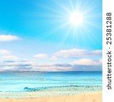 beyond the shores of heaven | Shutterstock . vector #25381288