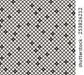 vector seamless pattern. modern ... | Shutterstock .eps vector #253826212