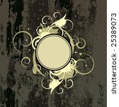 banner with decorative elements ...   Shutterstock .eps vector #25389073