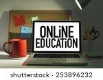 online education | Shutterstock . vector #253896232