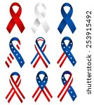 usa patriotic 4th of july... | Shutterstock .eps vector #253915492