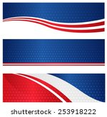 4th of july usa patriotic web... | Shutterstock .eps vector #253918222
