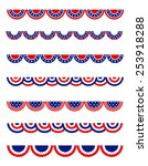 usa 4th of july patriotic  ...   Shutterstock .eps vector #253918288