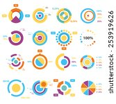 infographic elements  pie chart ...