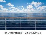 ocean from cruise ship | Shutterstock . vector #253932436