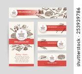 corporate identity business set ... | Shutterstock .eps vector #253939786