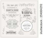 Vintage Wedding Invitation...