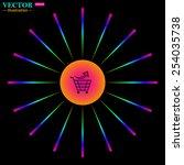 bright multi colored circle...