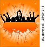 grunge people banner   vector...   Shutterstock .eps vector #25404145