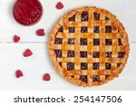 Raspberry Pie With Fresh...