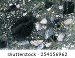 Breccia rock - stock photo
