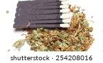 weed | Shutterstock . vector #254208016