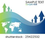 progress background vector | Shutterstock .eps vector #25422532