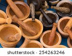 mortar made from wood | Shutterstock . vector #254263246