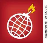 vector illustration of global... | Shutterstock .eps vector #25427041