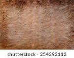 old clay background | Shutterstock . vector #254292112