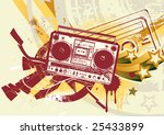 vector illustration of grunge...   Shutterstock .eps vector #25433899