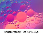 purple  orange  red and blue... | Shutterstock . vector #254348665